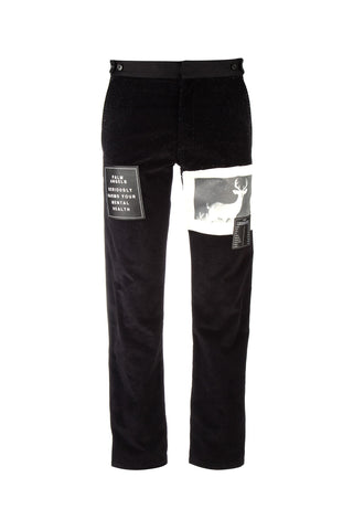 Palm Angels Logo Patch Trousers