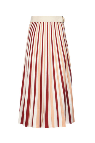 Moncler 1952 Pleated Midi Skirt