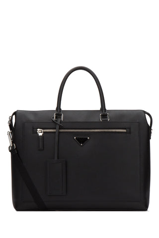 Prada Front Zipped Laptop Bag