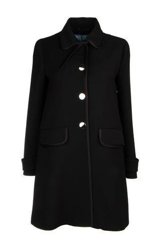 Prada Single Breasted Coat