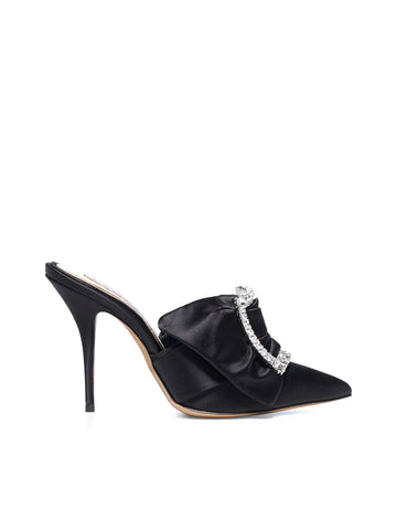 Alexandre Vauthier Crystal Buckle Pumps