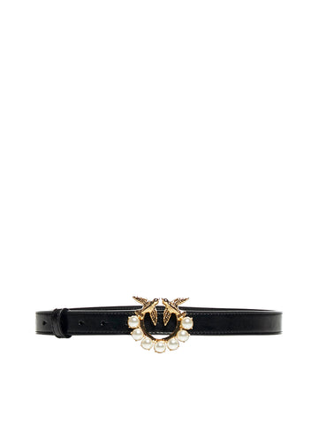 Pinko Vintage Love Birds Buckle Belt