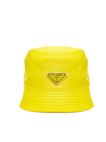 Prada Logo Bucket Hat