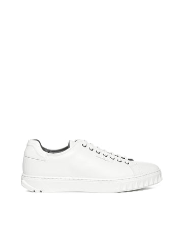 Salvatore Ferragamo Lace Up Sneakers