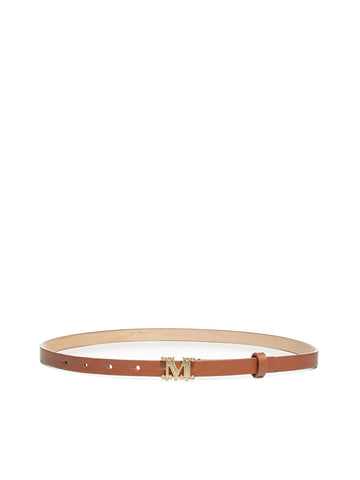 Max Mara Monogram Buckled Belt