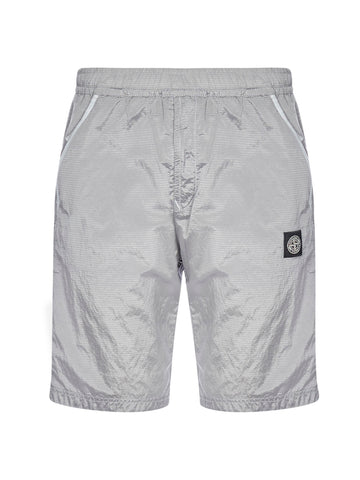 Stone Island Elasticated Waistband Bermuda Shorts