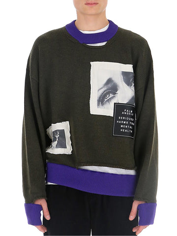 Palm Angels Distressed Sweater