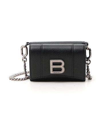 Balenciaga Hourglass Chain Strap Crossbody Bag