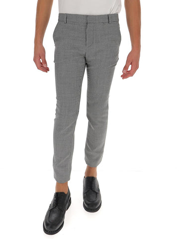 Balmain Houndstooth Tapered Pants