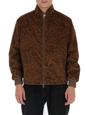 Etro Paisley Zip-Up Jacket