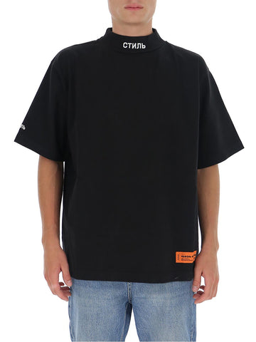 Heron Preston Mock Neck T-Shirt