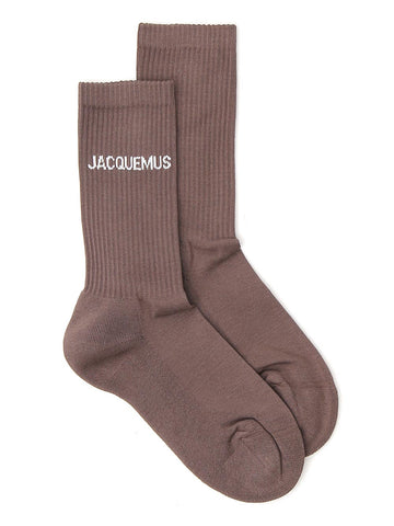 Jacquemus Stretch Rib Knit Socks