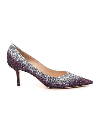 Jimmy Choo Love 65 Glitter Pumps