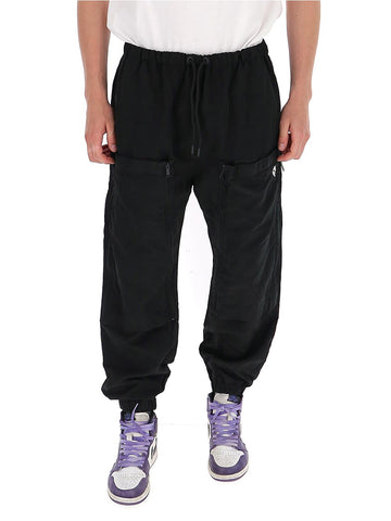 Marcelo Burlon County Of Milan Pocketed Drawstring Pants