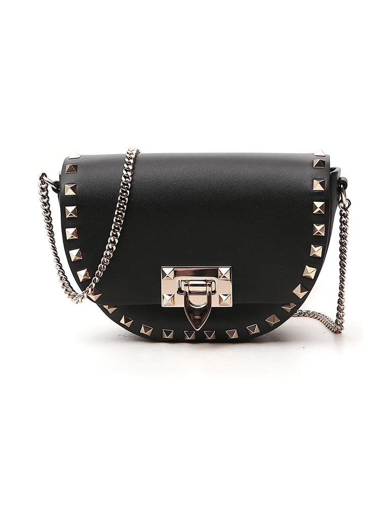Valentino Garavani Rockstud Saddle Bag