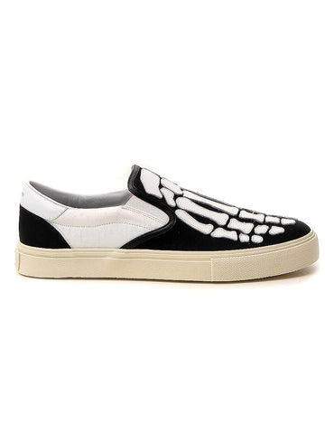 Amiri Skeleton Slip On Sneakers