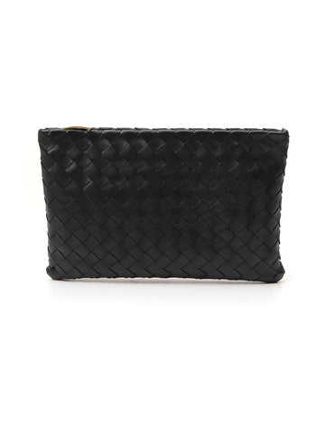 Bottega Veneta Intrecciato Weave Clutch Bag
