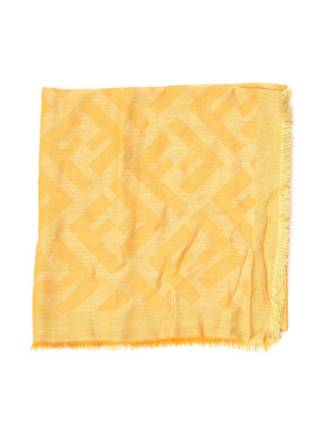 Fendi FF All-Over Logo Print Scarf