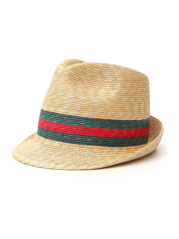 Gucci Striped Detail Trulby Hat