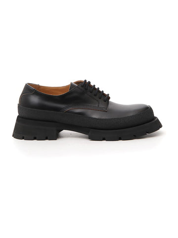 Jil Sander Chunky Derby Lace-Up Shoes
