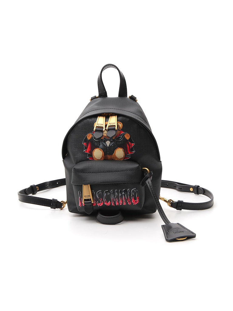 Moschino Teddy Bear Logo Backpack