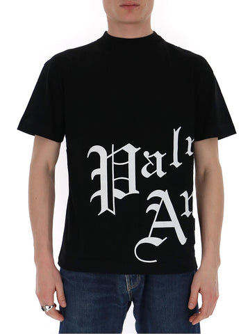 Palm Angels Gothic Logo T-Shirt