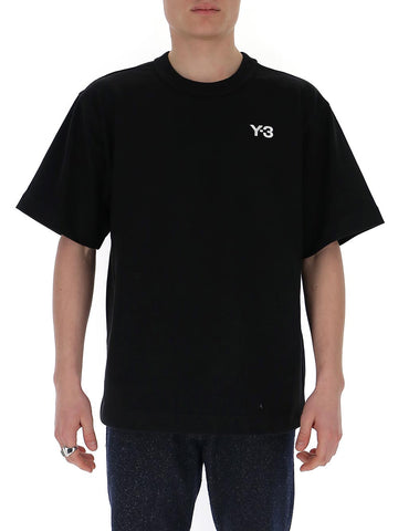 Y-3 Logo Embroidered T-Shirt