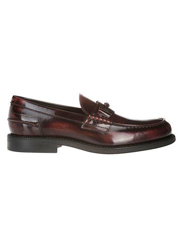 Tod's High Shine Loafers