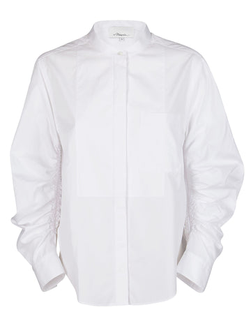 3.1 Phillip Lim Rouched Sleeves Shirt