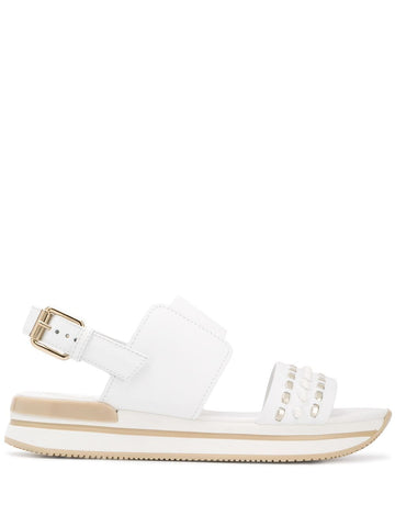 Hogan Studded Sandals