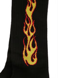 Palm Angels Flame Socks