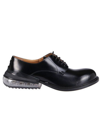Maison Margiela Contrast Heeled Derby Shoes
