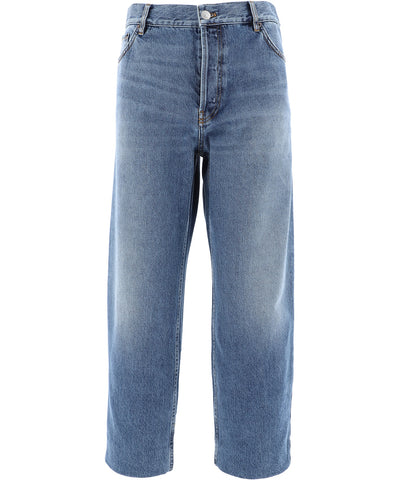 Balenciaga Cropped Denim Jeans