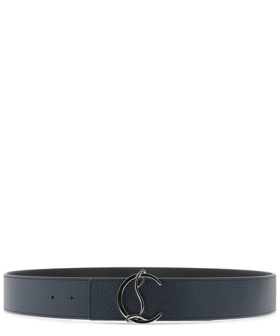 Christian Louboutin Logo Buckle Belt