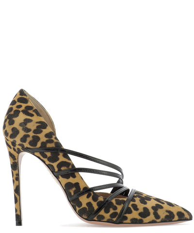 Aquazzura Minou Animalier Printed Pumps