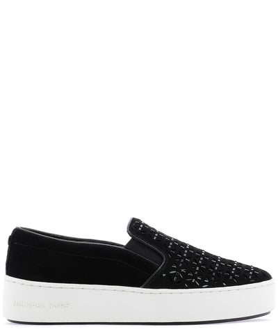 Michael Michael Kors Embellished Slip-On Sneakers