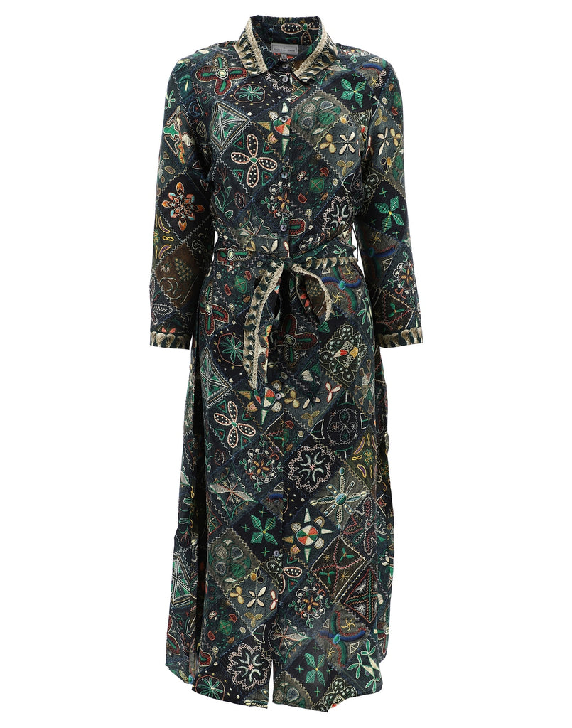 Pierre-Louis Mascia Printed Shirt Dress
