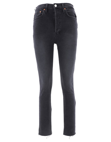 RE/DONE High-Waisted Skinny Jeans