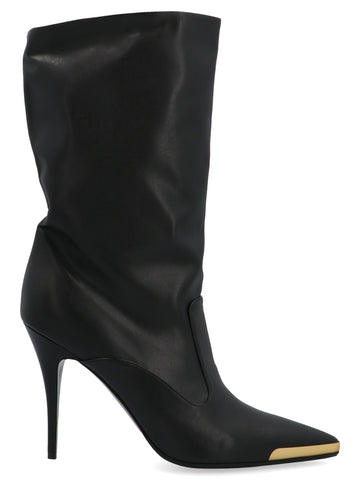 Stella McCartney Stiletto Heeled Pointed Toe Boots