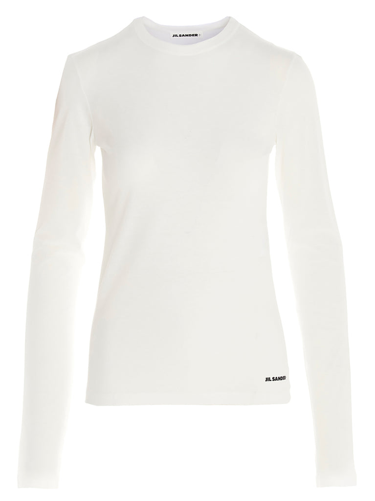 Jil Sander Logo Long-Sleeve Shirt