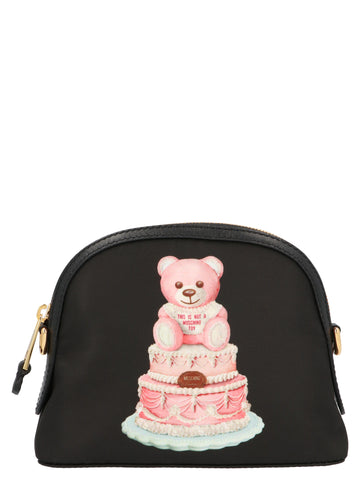 Moschino Teddy Bear Cake Crossbody Bag