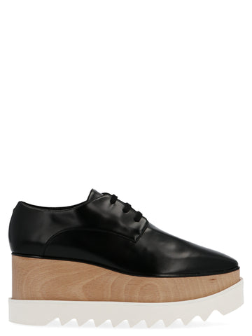 Stella McCartney Elyse Platform Lace-Up Shoes