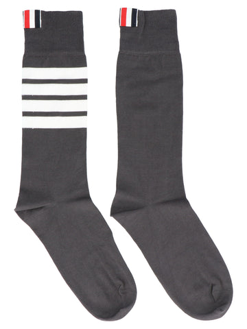 Thom Browne 4-Bar Crew Socks