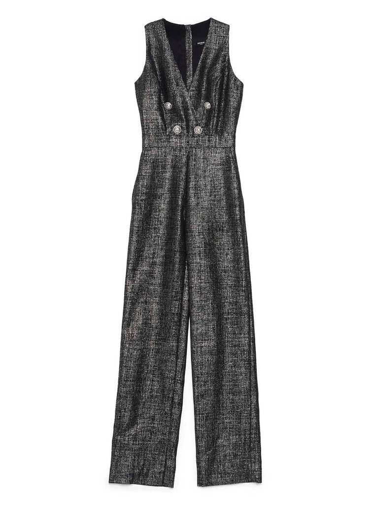 Balmain Double Breasted Jumpsuit