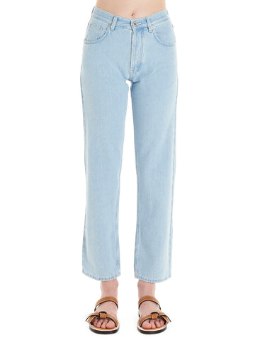 Loewe Embroidered Pocket Jeans