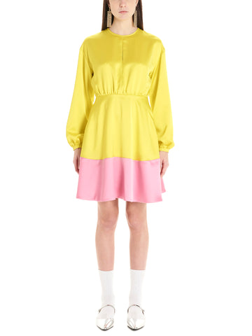 MSGM Contrast Hem Dress