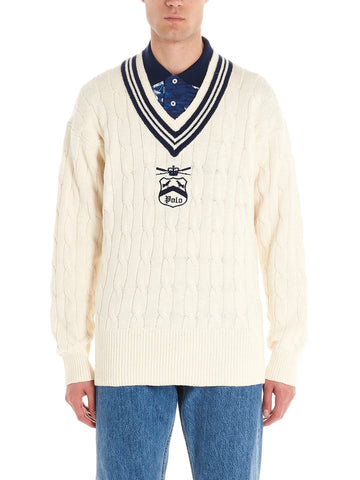 Polo Ralph Lauren Embroidered Sweater