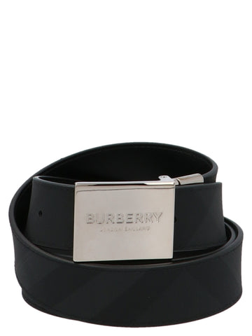 Burberry Logo Buckle Belt