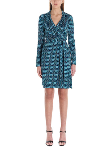 Diane Von Furstenberg Patterned Wrap Dress