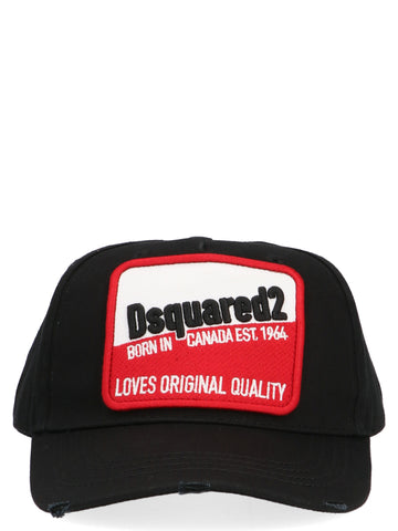 Dsquared2 Logo Cap